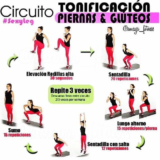 Tonificación piernas y glúteos