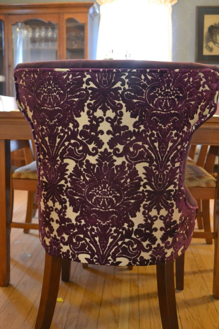 Best 25 Purple Dining Chairs Ideas On Pinterest  Purple Dinning Extraordinary Large Dining Room Chair Covers Design Inspiration
