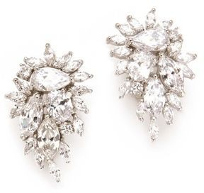 Kenneth jay lane Waterfall Earrings on shopstyle.com