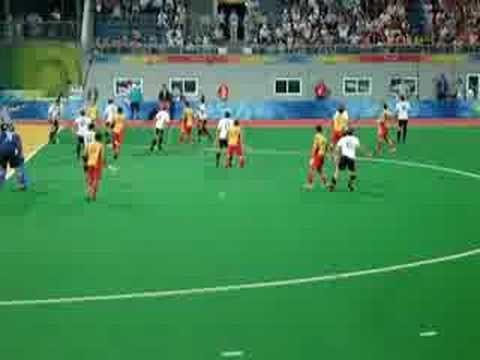Hockeygold für Deutschland 2008