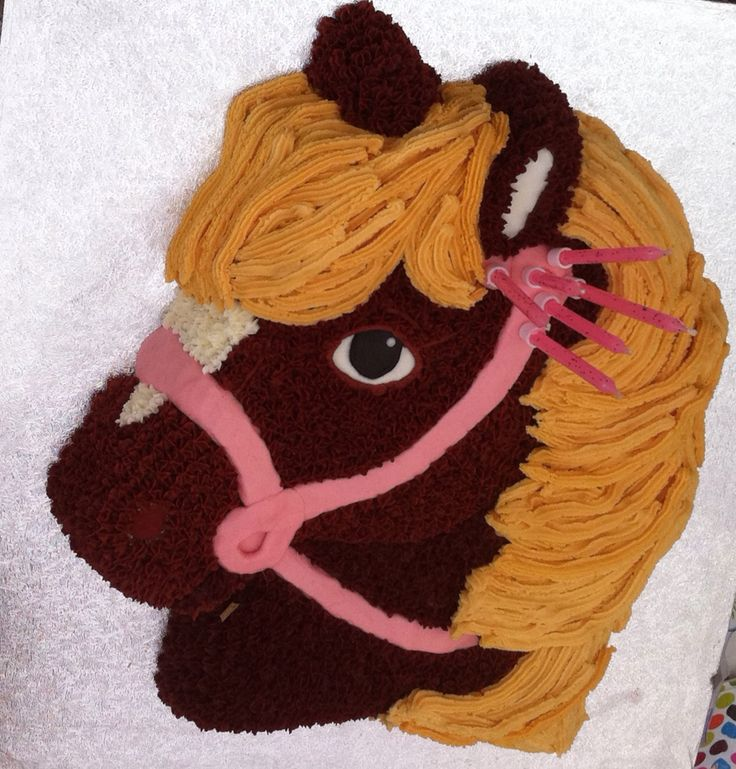Pony cake ideas for our Pony Parties!