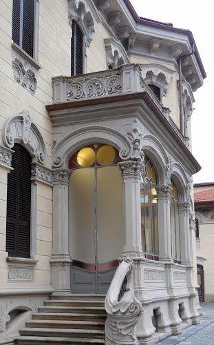Torino, corso Francia 8, Villino Raby (Pietro Fenoglio & Gottardo Gussoni 1901)