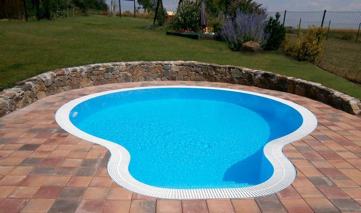 Prelivový bazén ALBISTONE - Kruh