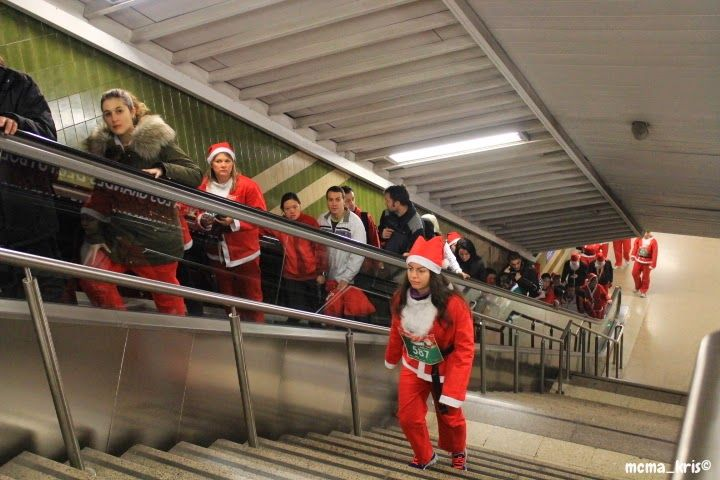 Papá Noeles en camino