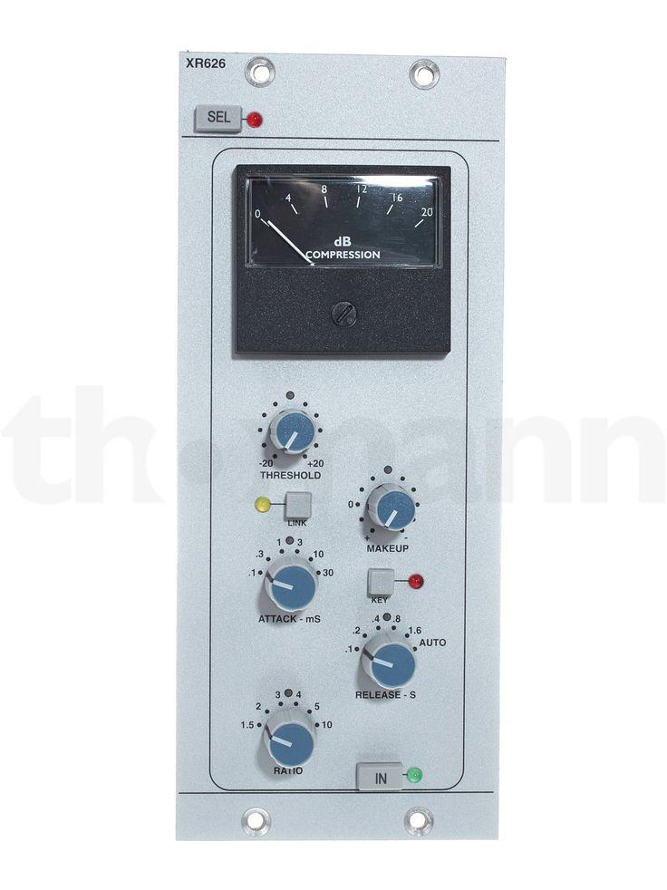 SSL X-Rack Stereo Bus Compressor