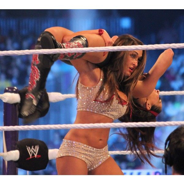 WWE Diva Nikki Bella Hot Pictures ❤ liked on Polyvore