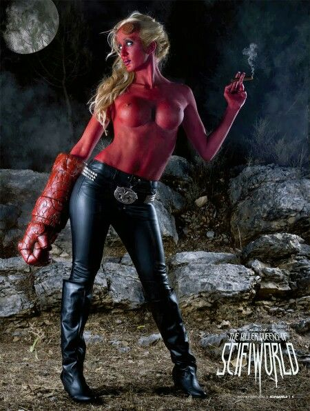 Hellboy - girl?
