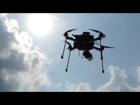 Oto pierwsze drony Sony
