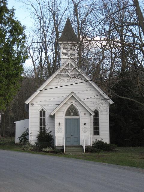 Old Copake Falls Church by joseph a, via Flickr