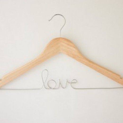 Personalised hanger – Bride / Groom / Love | The Perfect Day 2 | The Perfect Day