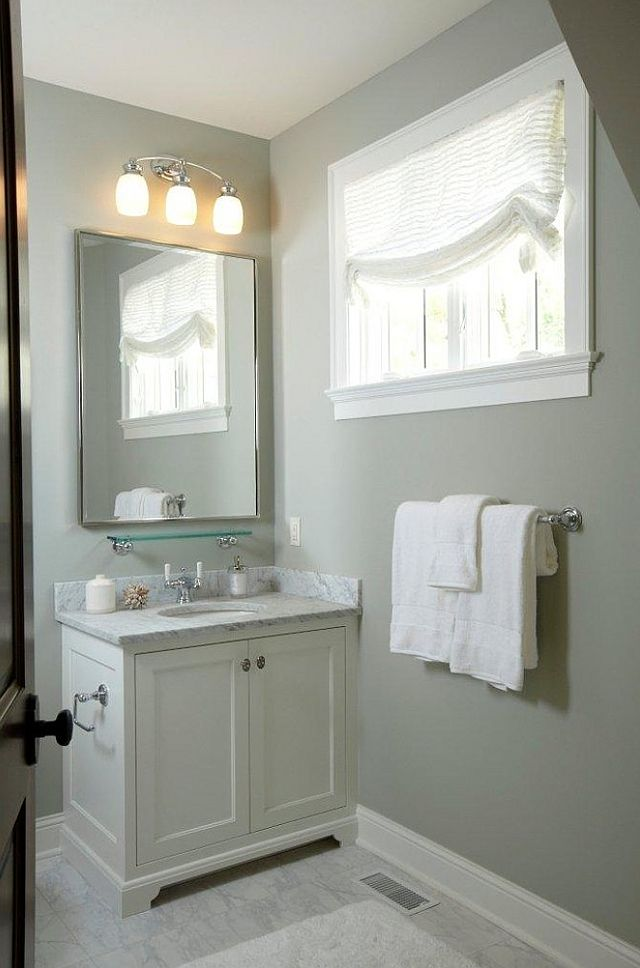 55 best images about grein paint colors on pinterest for Painting small bathroom