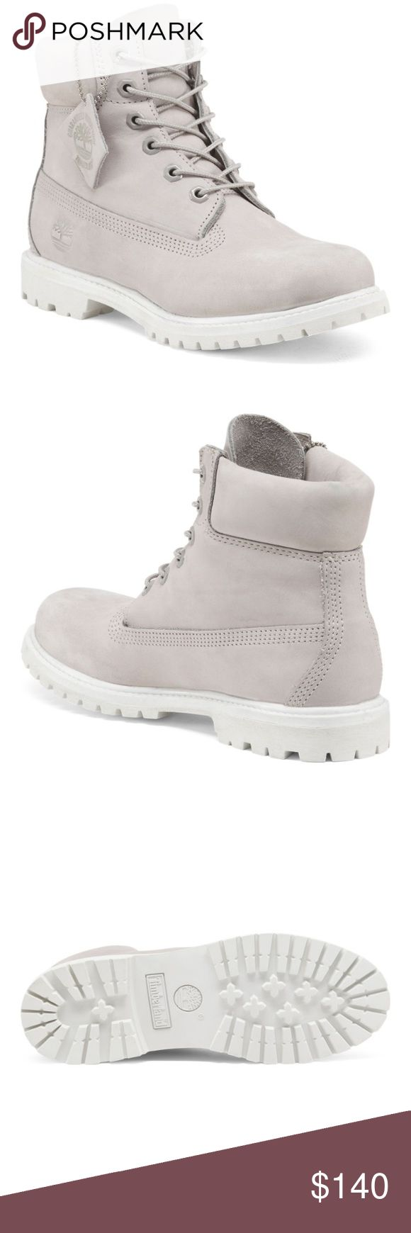 ✨COMING SOON✨ Brand new Timberlands! Grey suede waterproof premium boots. WILL BE AVAILABLE TO SHIP TO YOU ON MONDAY🎉 BUY NOW TO ENSURE THEY'RE YOURS❗️😌 Timberland Shoes Winter & Rain Boots
