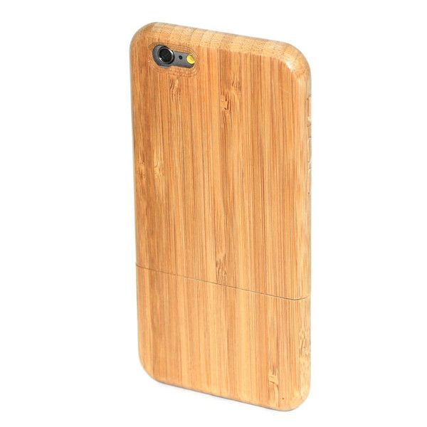 iPhone 6 Wood Case in Carbonised Bamboo by Bamboo & Wood