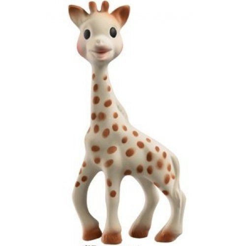 Vulli Sophie Giraffe Teether - Parents & Babies have loved Sophie for over 50 years - Would make a great git for Baby's First Christmas! - bedtimebaby.com
