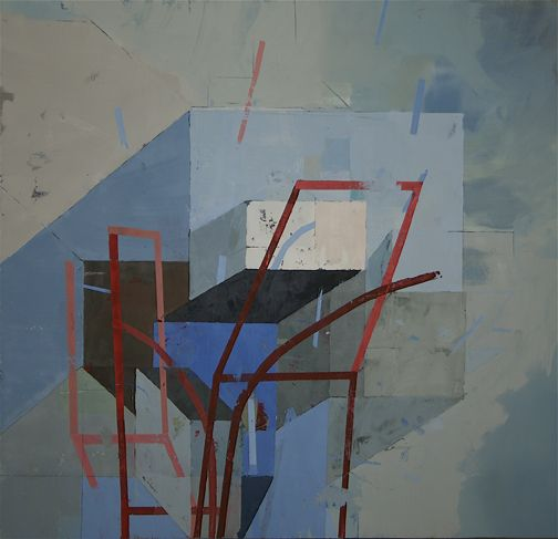 Jeff Depner-Link 23 in the Eternal Chain, 2006 oil on canvas 48 x 46cm?