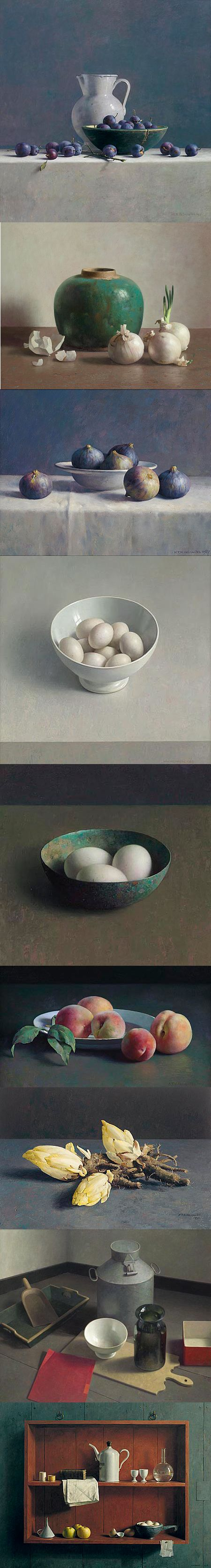 Henk Helmantel (1945-...) Still life, nature morte