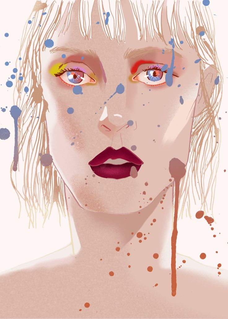 New Portrait - Eunjeong Yoo - Fashion Portrait & illustration