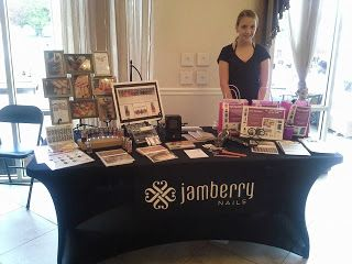 Event Set Ups jamberry! Join the Jamberry family today and join in the fun! http://www.debbiebrown.jamberrynails.net/join/