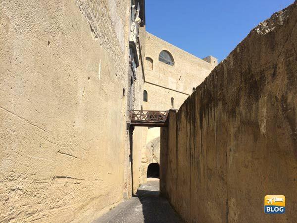 Itinerari a Castel Sant'Elmo