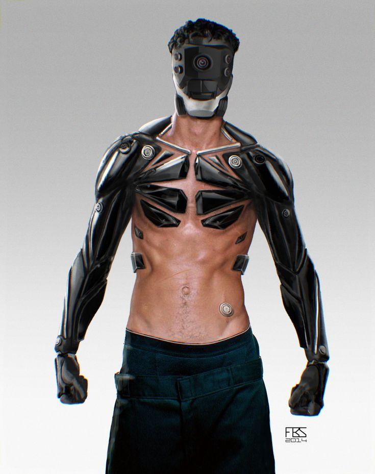 ArtStation - cyborg, Francisco Sequeira