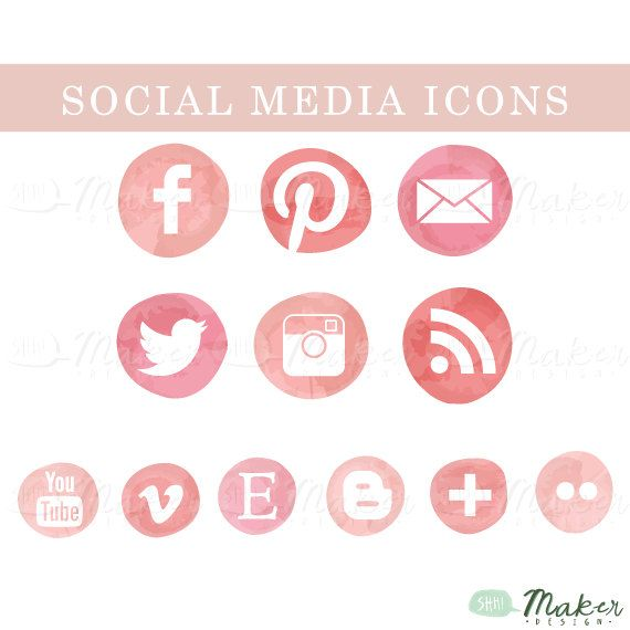 How to add social media share buttons to blogger (Rounded ...