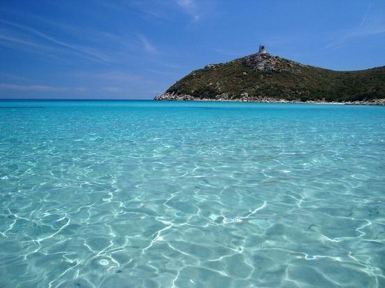 Capo Carbonara Gulf with tower - Sardinia - Villasimius Resort Stella Maris