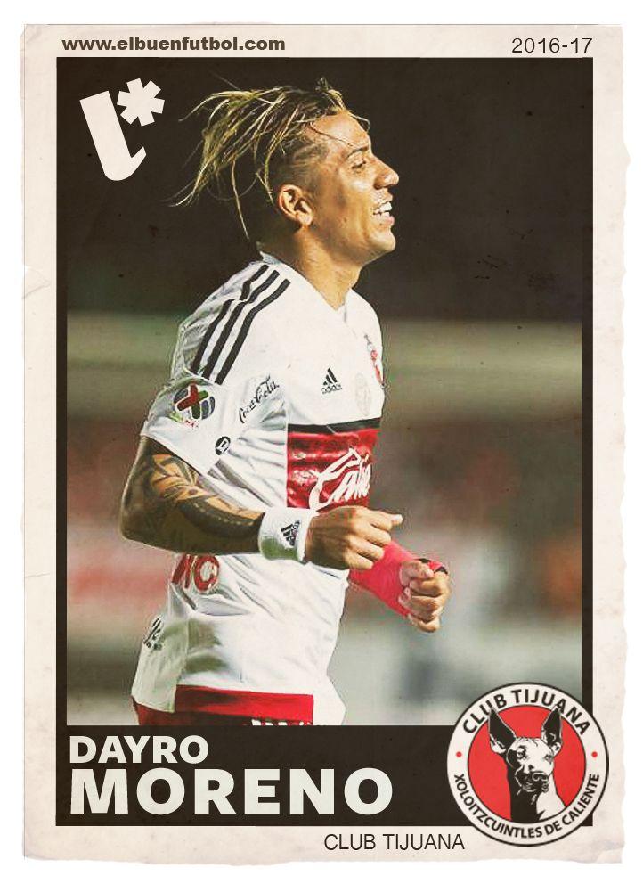 Dayro Moreno. Club Tijuana. Título de goleo en Liga MX.
