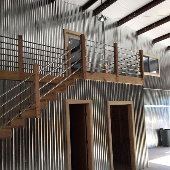 Image Result For How To Install Metal Siding Inside On A Wall Howtobuildashed Metal Building Homes Building A House Metal Buildings