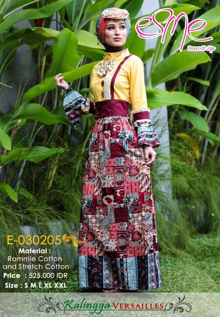 Kalingga Versailles esme best fashion tunik Bahan : Rammie Cotton & Stecth Cotton Size Tersedia : S M L XL XXL Berat : 1 Kg Harga: Rp 525.000 Kode Produk: E-030205