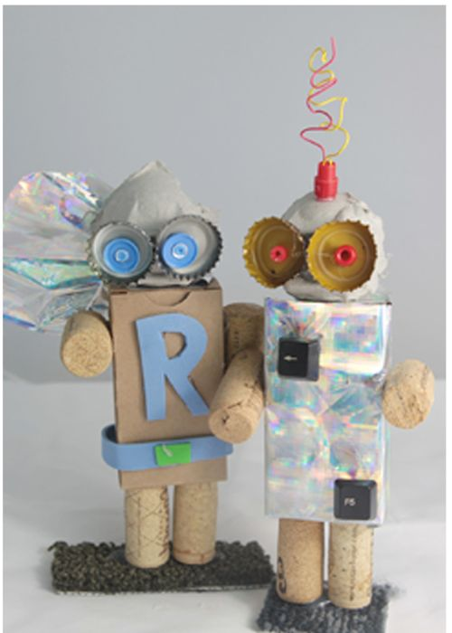 57 best reuse kids art images on pinterest art education for Waste material project for kids