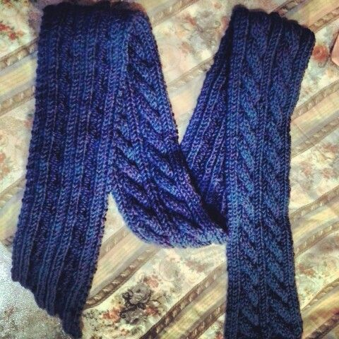 I love this pattern! But take me more time to do this scarf!
