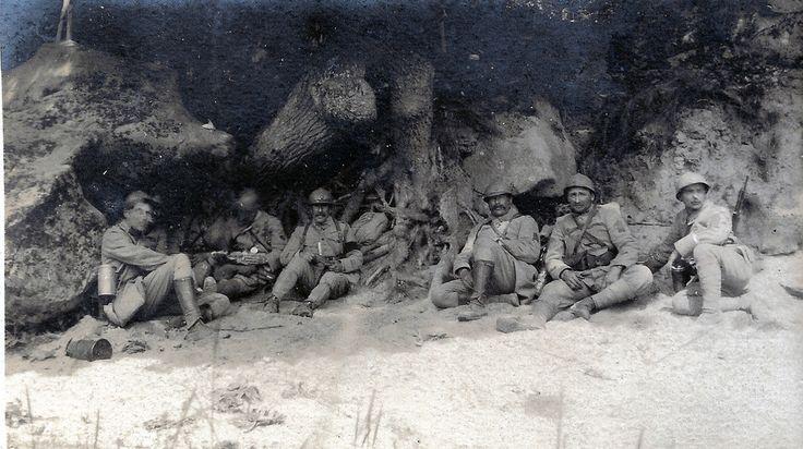 2éme bataille de la Marne - Bois de Belleau 2 juin 1918 - poste de Commandement du Commandant Du Bourg - (photo VestPocket Kodak Marius Vasse 1891-1987) | Flickr - Photo Sharing!