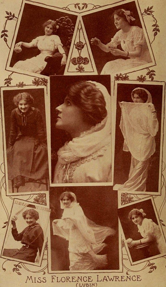 The first movie star Florence Lawrence