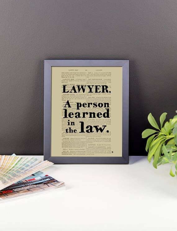 Framed Poster Lawyer Definition 1891 Black S Law Poster Frame