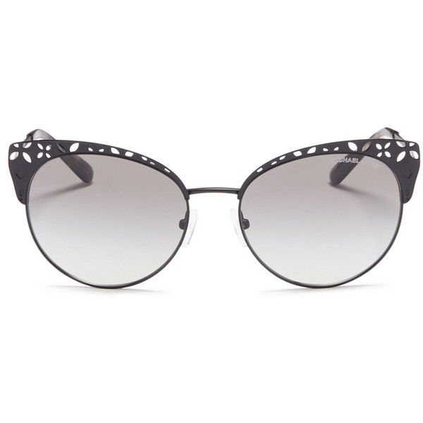 Michael Kors 'Evy' floral cutout matte metal cat eye sunglasses (11,760 PHP) ❤ liked on Polyvore featuring accessories, eyewear, sunglasses, metal sunglasses, michael kors glasses, cat eye sunnies, cat eye sunglasses and cat eye glasses