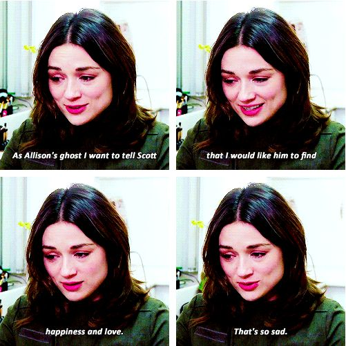 .it's so sad that the show has to go on without such an important character... also, I dont ship Scott and Kira....