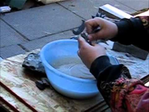 How to carve soapstone with Dave Zachary (start to finish) part 2.