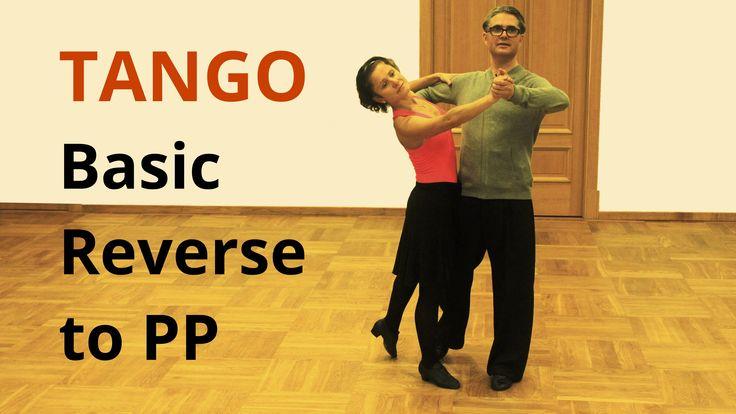 How to dance Tango? Basic Reverse to Promenade