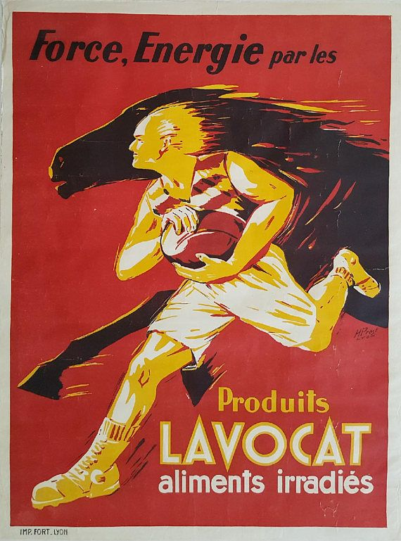 1930s Produits Lavocat French Food Advertisement  Original