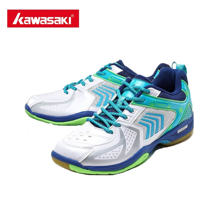 49.99$  Watch now - http://aliuhj.shopchina.info/go.php?t=32802879509 -  Kawasaki K-138 Badminton Shoes Breathable Anti-torsion Wear-resistance Rubber For Male Female Badminton Sneakers Outdoors +Gift  #buymethat