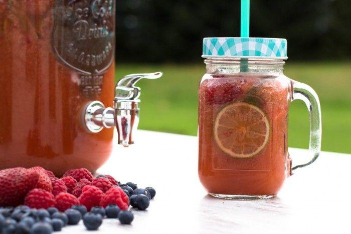 Erdbeerbowle ohne Alkohol - Kaschula