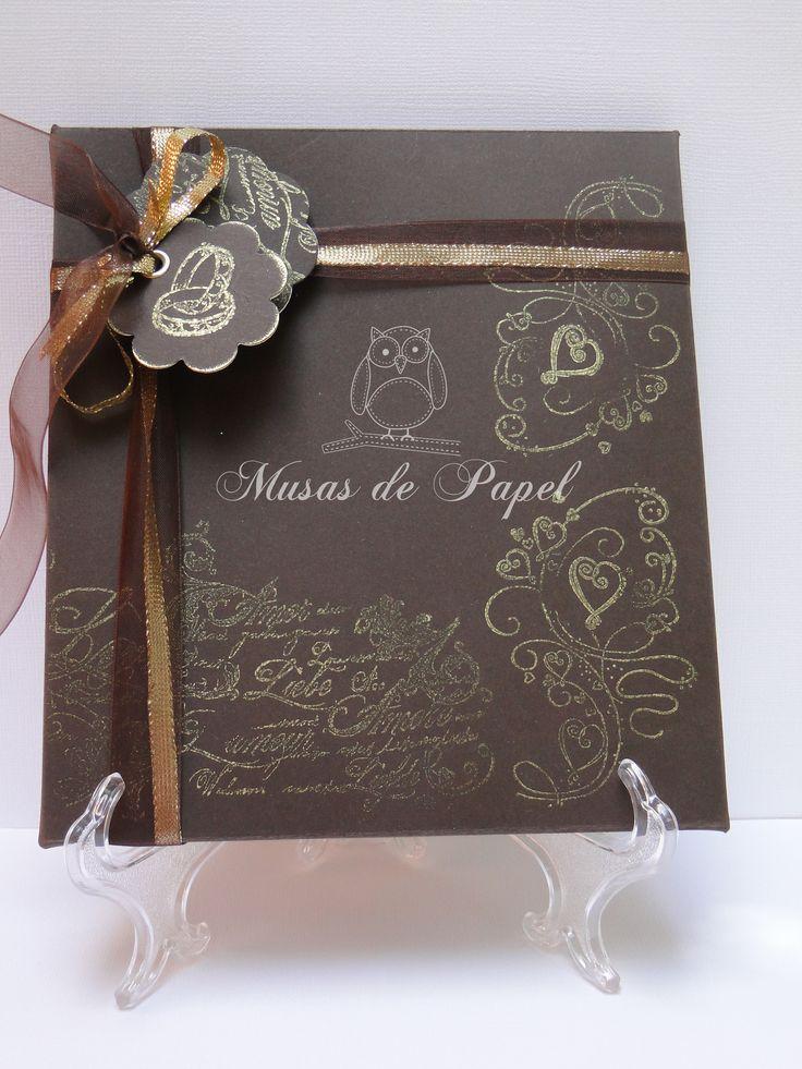 Caja para tarjeta de boda