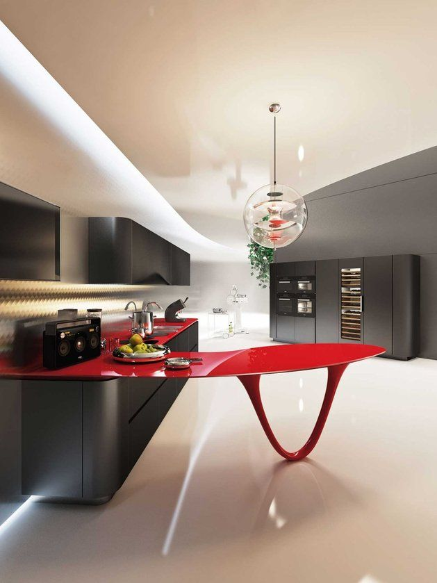 This May Be No Worldu0027s Most Expensive Kitchen. But The Limited Edition OLA  25 Ferrari Kitchen By Pininfarina And Snaidero Truly Has The Ferrari Of  Island W