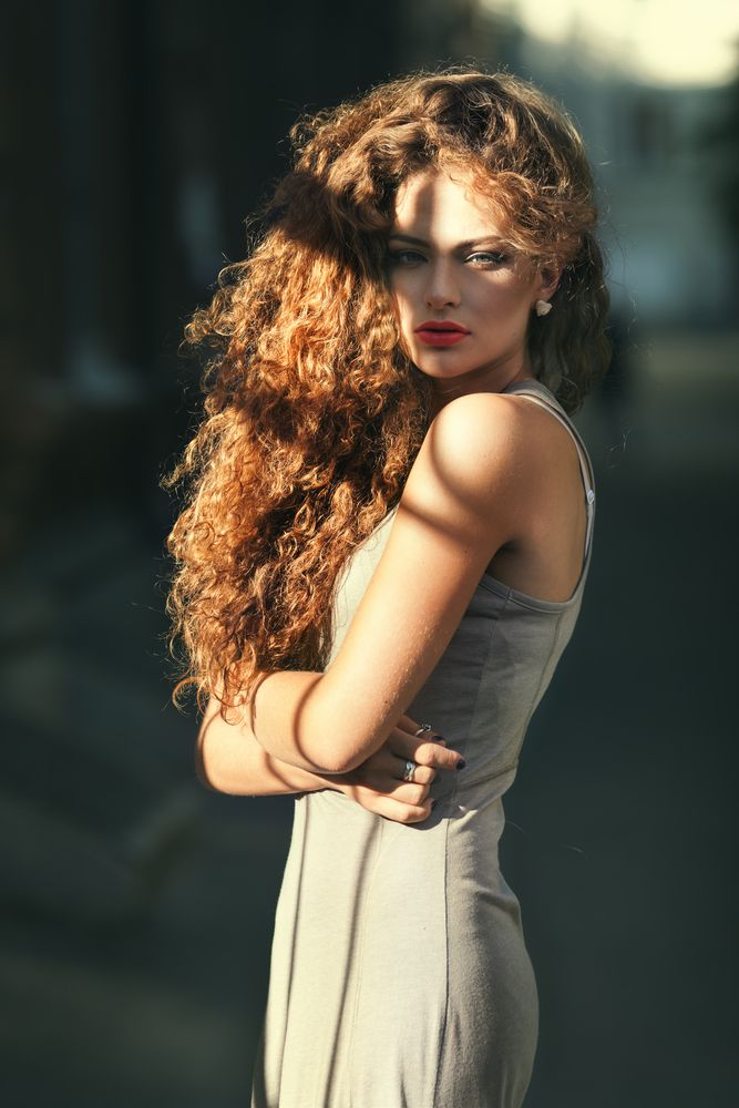Hottest Curly Hair Trends for Spring   One day, I'll shall have this hair on my head