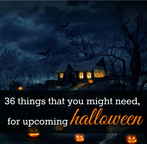 36 things that you might need for upcoming #halloween bit.ly/36halloweenideas - #holidaysideas #autumn #costumeparty