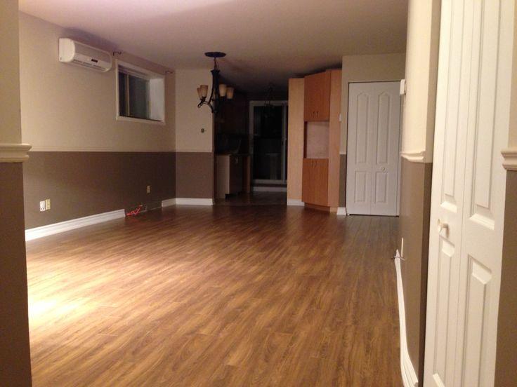 Plancher de bois franc // wood flooring #renovation #home