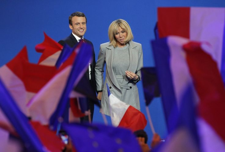 """#Macron is 39 and his wife is 64. #French #women say it""""s about time..."""