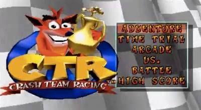 Crash Team Racing :D Otro de los clásicos que encontrarás para jugar en ambos #insertcoinbar :D  Hoy Domingo como siempre solo nuestra sede de Ñuñoa abierta hasta las 23:30 ;)