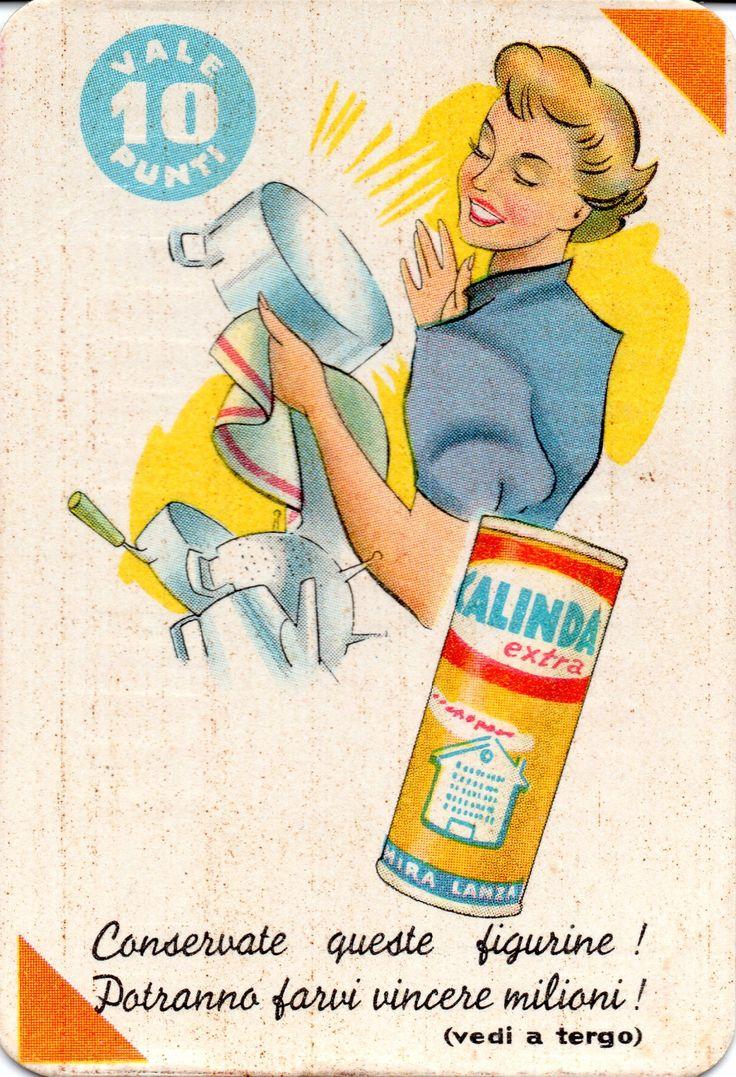 MIRA LANZA CALINDA - Concorso figurine (1961 M.L.P. 656)