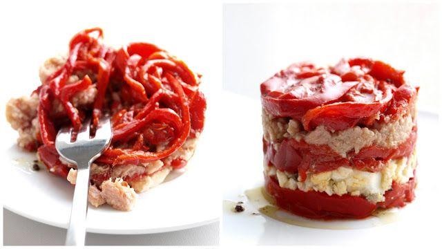 Bocados dulces y salados: ENSALADA DE PIMIENTOS  ☂ᙓᖇᗴᔕᗩ ᖇᙓᔕ☂ᙓᘐᘎᓮ http://www.pinterest.com/tereteguiDEL PIQUILLO